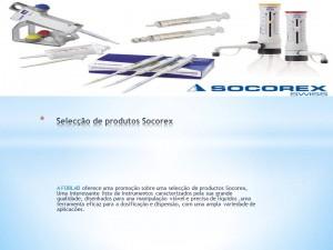 Selecção de produtos Socorex
